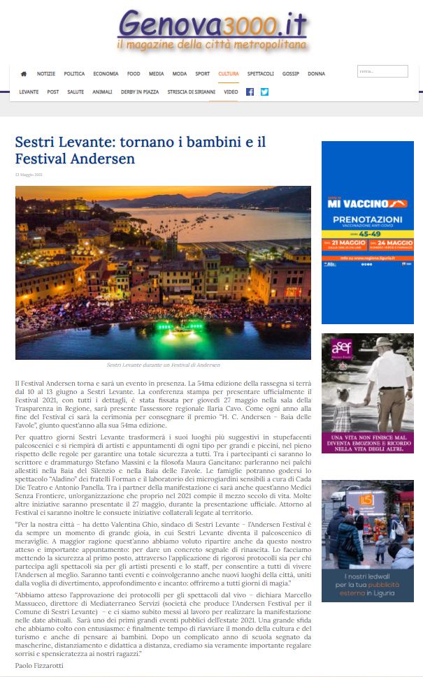 Genova3000_domenica 23 maggio 2021
